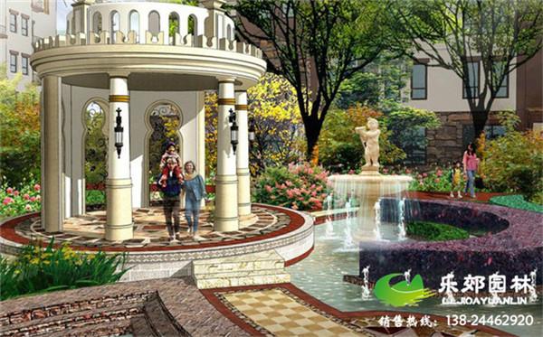 欧式庭院设计效果图